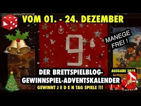 Türchen 9: Meeple Circus -  Der große Brettspielblog Gewinnspiel Adventskalender 2018