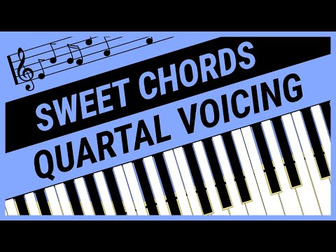 Sweet Chords  Quartal Voicing  Piano Advanced Lesson