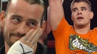 CM Punk taunts Mickey Gall about how much he is making at UFC 203