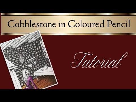 Colouring Basics: How to Colour Cobblestone