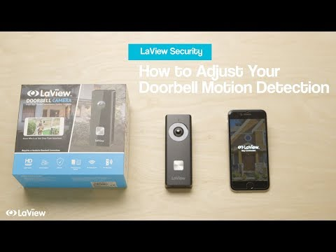 LaView Wi-Fi 1080P Video Doorbell Camera with On-Board Storage with  Pre-Installed 16GB Micro SD, Motion Detection, Two-Way Audio, Night Vision,  Free