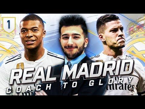 FIFA 19 REAL MADRID CAREER MODE CTG 1 - 400 MILLION DOLLAR REBUILD STARTS HERE