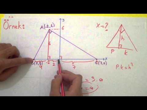 Analitik Geometri 1 - Doğrunun Analitik İncelemesi Şenol Hoca Matematik