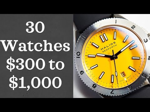 Watches for Men: 30 Watches from $300-$1,000 (2018)