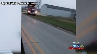 Dump Truck Police Pursuit