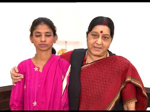 External Affairs Minister Sushma Swaraj Appeal To People