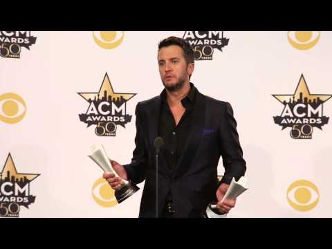 2015 ACM Awards Press Room: Luke Bryan