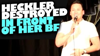Heckler Destroyed In Front Of Her Boyfriend | Scottsdale, AZ