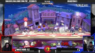 FGF32 - BBB|Ethene (Corrin) Vs. X (Sonic) - Grand Finals