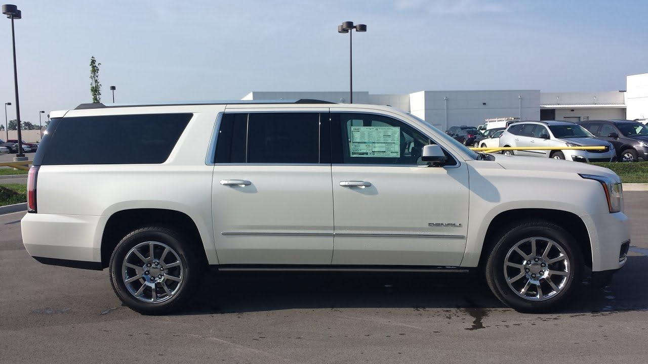 2015 yukon denali xl - Sold 2015 Gmc Yukon Xl 4x4 6 2l White Diamond 77 970 00 Msrp For Sale Call 855 507 8520 Youtube