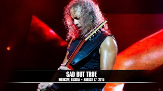 Metallica Sad But True MetOnTour Moscow Russia 2015
