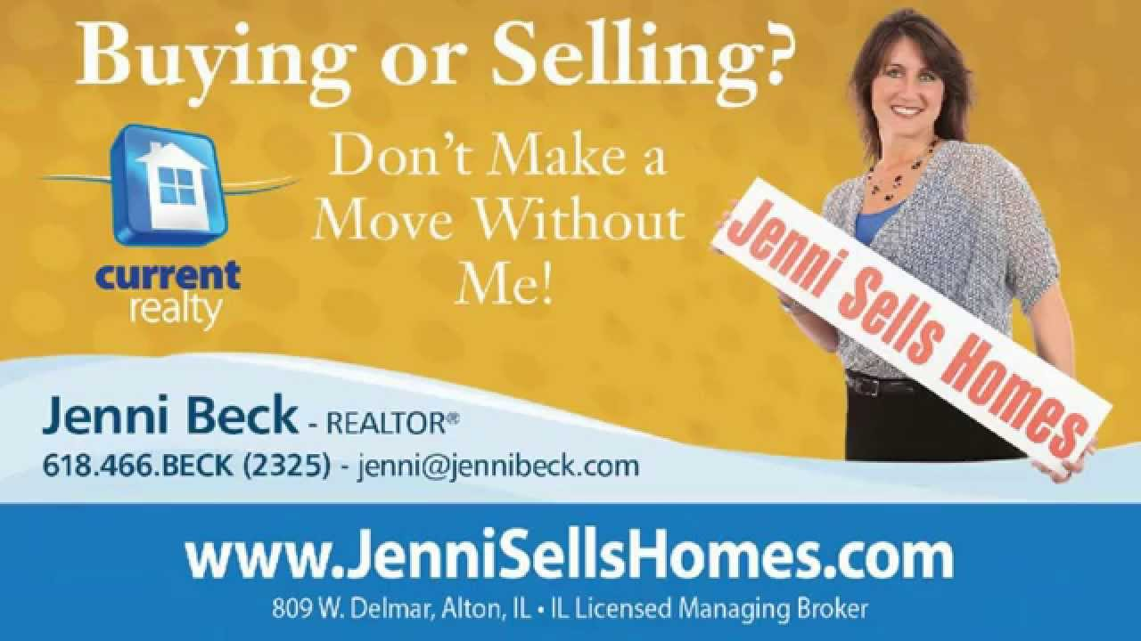 I Want To Be Your REALTOR   Jenni Beck   Jenni Sells Homes