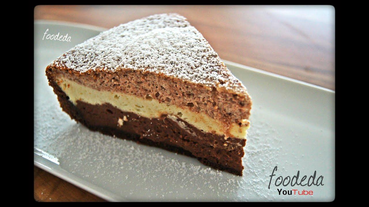 k sekuchen mit schokolade ohne gelatine triple chocolate cheesecake. Black Bedroom Furniture Sets. Home Design Ideas