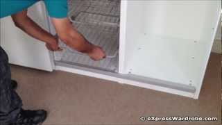 Repeat youtube video IKEA Pax Hasvik Sliding Door Wardrobe Design - Red Heart