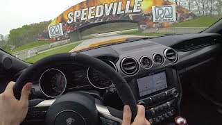 2019 Ford Mustang Shelby GT350 - Tedward POV Track Drive