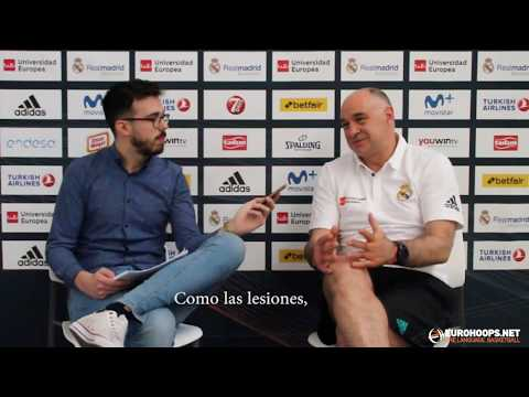 """Pablo Laso: """"We are proud as an organization for Luka Doncic"""""""