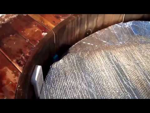 Obadiah's: Redwood Hot Tub Installation - Keeping the Tub Hot
