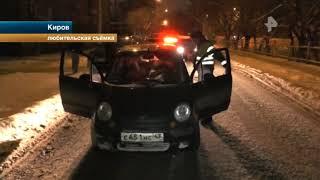 В Кирове полицейские задержали двух начинающих стритрейсеров