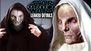 Star Wars Episode 9 Snoke's Backstory! Leaked Details Revealed (Star Wars News)