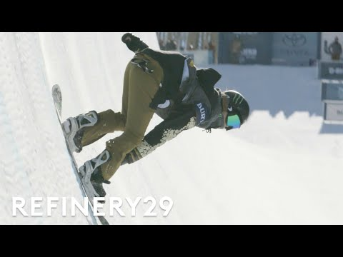 Watch Snowboarder Chloe Kim Win 2017 Burton Women's Open Halfpipe Tournament | Features | Refinery29
