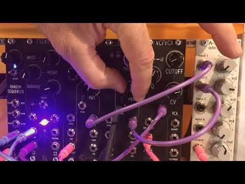 Rat King Modular TONE - 3340 Curtis Voltage Controlled Oscillator - Feature Demo