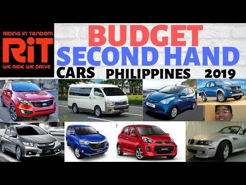 Budget Second Hand / Used Cars Philippines 2019