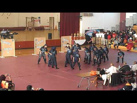Lindley Middle School Nut Phi Steppers