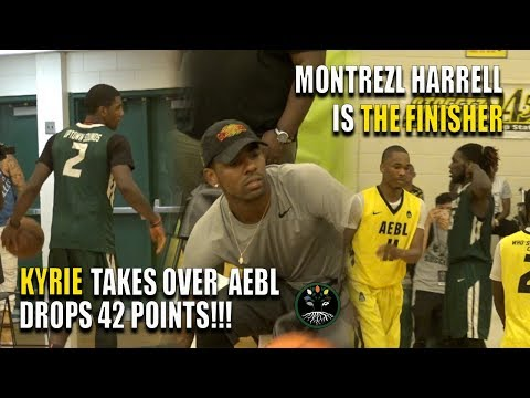 New Boston Celtic KYRIE IRVING shuts down AEBL with 42 POINTS‼️‼️ Montrezl Harrell is THE FINISHER