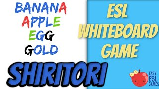 Shirtori (A Whiteboard Game) - Easy ESL Games