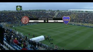 Fútbol en vivo. Lanús - Boca. Semifinal Copa Argentina 2015. FPT