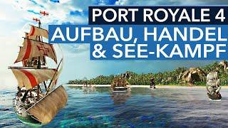 Ist Port Royale 4 eigentlich so ähnlich wie Anno 1800? - Live-Mitschnitt