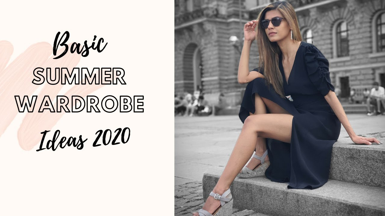Basic Summer Wardrobe 2020 | Zara Haul