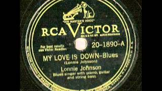 Watch Lonnie Johnson You Will Need Me video