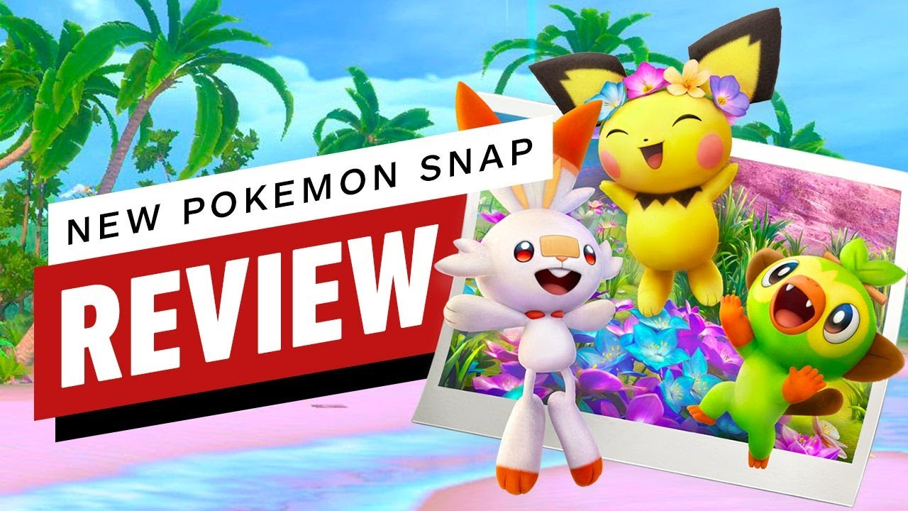 New Pokemon Snap Review (Video Game Video Review)