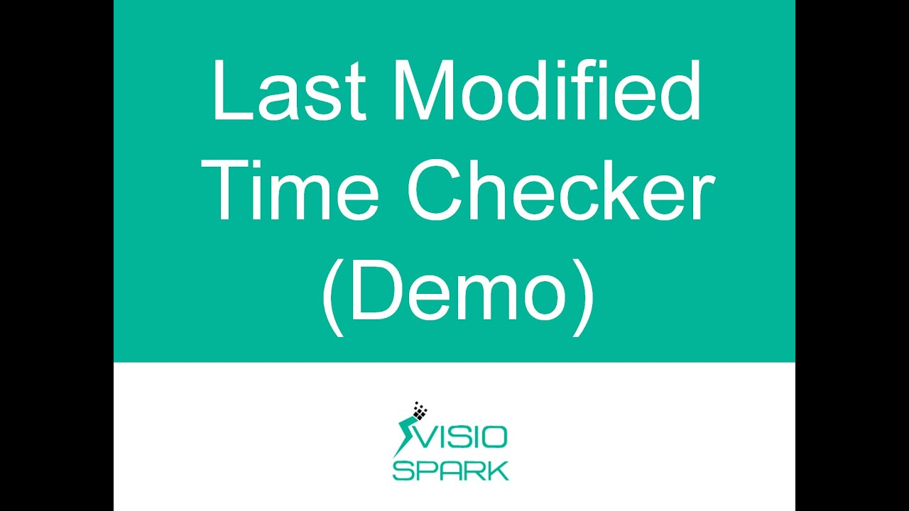Online Last Modified Time Checker