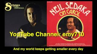My World Keeps Getting Smaller Every Day (Live) by Neil Sedaka (HQ Audio with Lyrics)