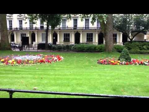 Public garden square London