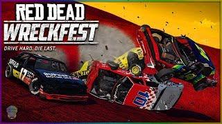 RED DEAD WRECKFEST! [WILD WEST NASCAR!]   Wreckfest   NASCAR Legends Mod
