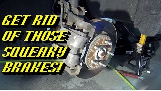 Ford Quick Tips #59: Renewing Your Disc Brakes to Eliminate Squeaks