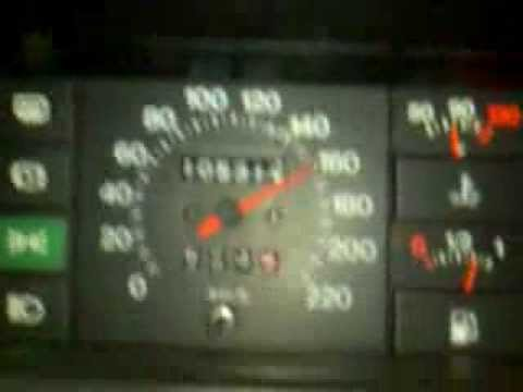 Fiat Ritmo 130TC Abarth ripresa in quinta marcia...