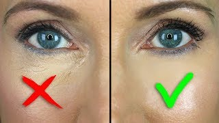 How to STOP Under Eye Concealer Creasing! Mature Skin