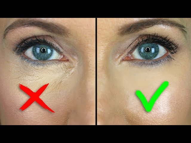 How To Stop Under Eye Concealer Creasing Mature Skin Youtube
