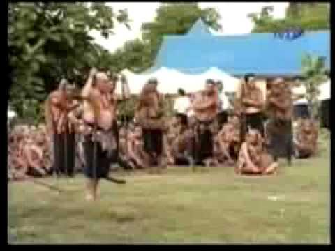 HIS HIGHNESS MALIETOA TANUMAFILI II (SAMOAN FUNERAL CUSTOMS)