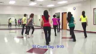 Shake The Room - Line Dance (Dance & Teach in English & 中文)