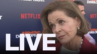 Jessica Walter Says Jeffrey Tambor Harassed Her | ET Canada LIVE