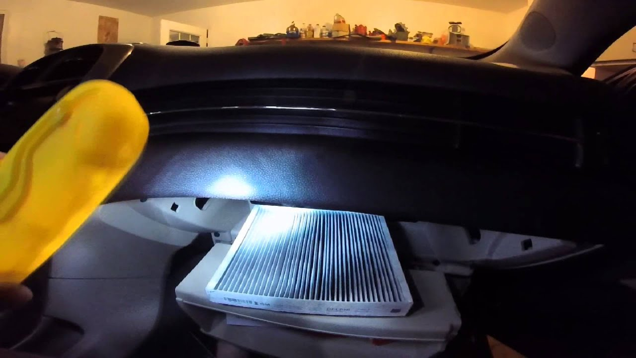 how to change ve cabin air filter