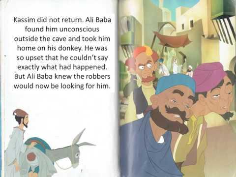 Ali Baba and the 40 thieves- Ali Baba và 40 tên cướp