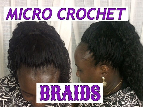 MICRO CROCHET BRAIDS TUTORIAL