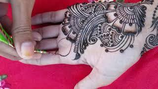 Stylish Beautiful Mehndi Design Easy Simple Mehndi Design for Hand Arham Mehndi Designs 2020