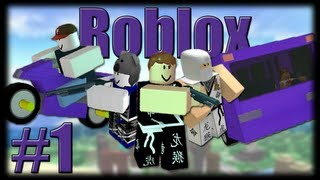 Jogando Roblox - Roblox City - Parte 1